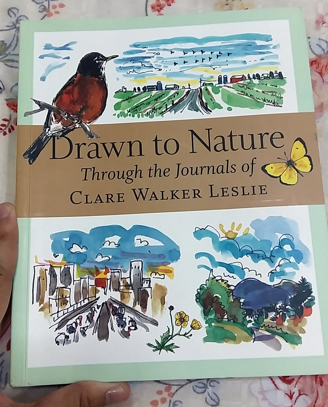 Book Review: Drawn to Nature: Through the Journals of Clare Walker Leslie