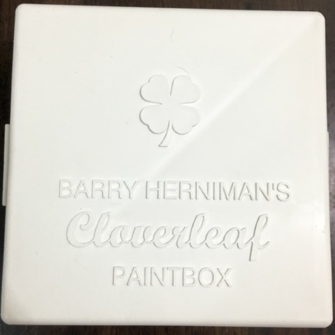 Barry Herniman Cloverleaf Paint Box