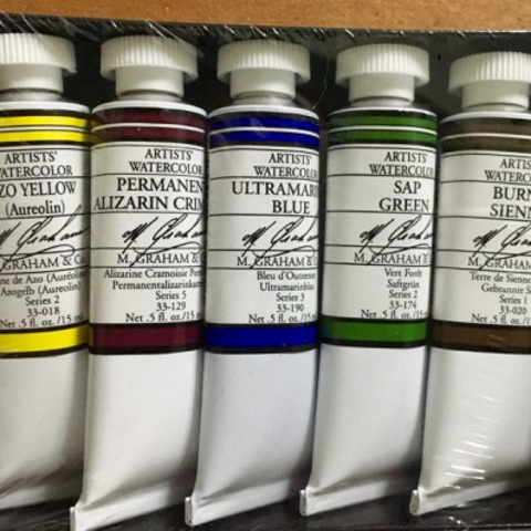 M. Graham Basic Watercolor Set