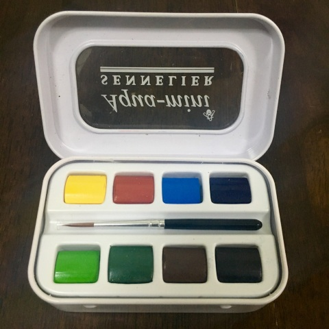 Sennelier Aqua-Mini Watercolor Set (8 Colors)