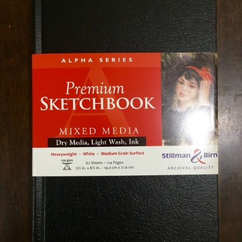 Stillman & Birn Alpha Sketchbook (5.5x8.5, White Vellum, 150 gsm)