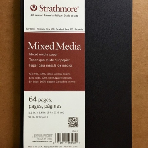 Strathmore Hardbound Journal: Mixed Media (Vellum, 190 gsm)