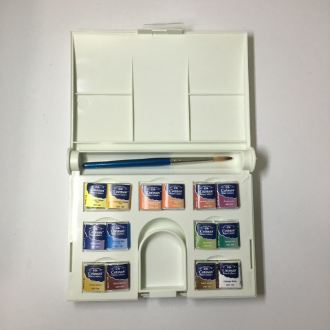 The Opinionated Art Store Winsor Newton Cotman Compact Set 14