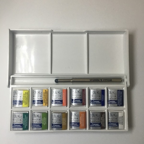 Winsor & Newton Cotman Sketchers' Box (12 Half Pans)